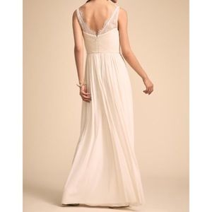 BHLDN Hitherto Fleur Dress Ivory